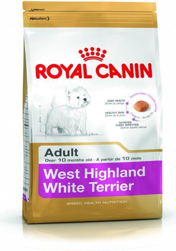 Royal Canin West Highland White Terrier Adult karma sucha dla psów dorosłych rasy west highland white terrier 1.5kg 1