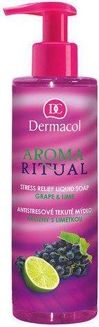 Dermacol Aroma Ritual Liquid Soap Grape&Lime Mydło w płynie 250ml 1