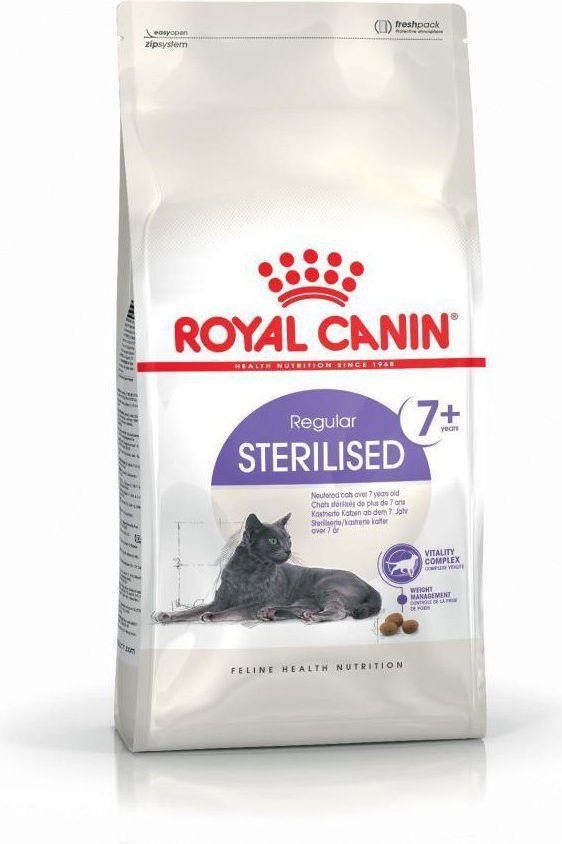 Royal Canin Sterilised +7 karma sucha dla kotów od 7 do 12 roku życia, sterylizowanych 0.4 kg 1