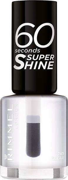 Rimmel  60 Seconds Super Shine Nail Polish nr 740 8ml 1