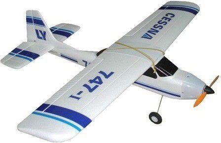 Samolot RC TW 747-1 Cessna 2.4Ghz RTF (747-1-BL) 1