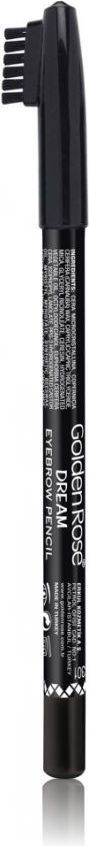 Golden Rose Dream Eyebrow Pencil Kredka do brwi ze szczoteczką 301 1
