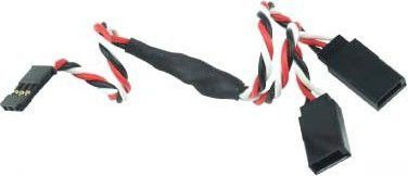 GPX Extreme Kabel rozgałęziacz Futaba 15cm 26AWG skręcony (GPX/AM-3002-1) 1