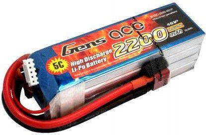 Gens Ace & TATTU 2200mAh 14.8V 25C Gens Ace (B-25C-2200-4S1P) 1
