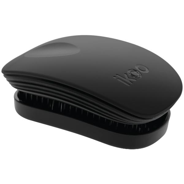 Ikoo Pocket Black Classic Szczotka do włosów Czarna 1