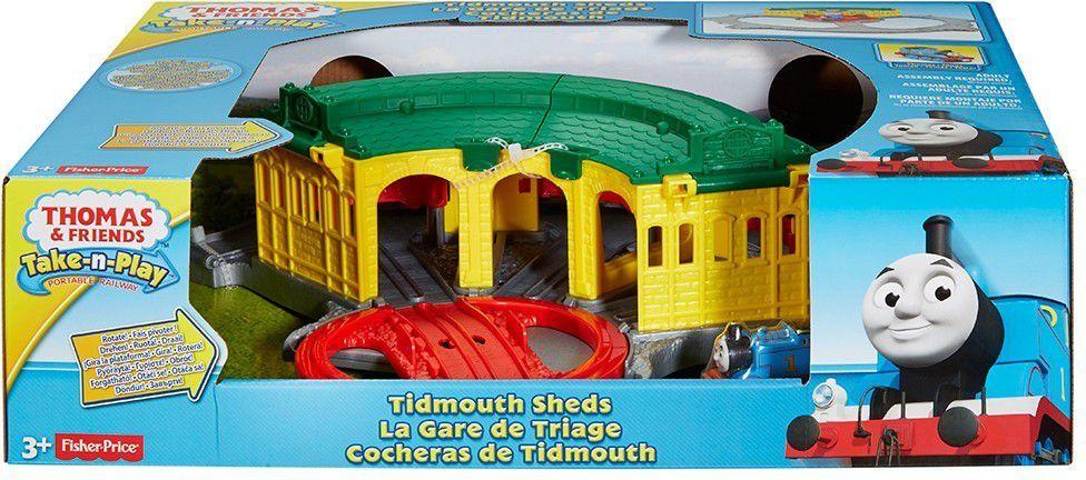 Fisher Price TiP Zajezdnia domkowo - DGK96 1