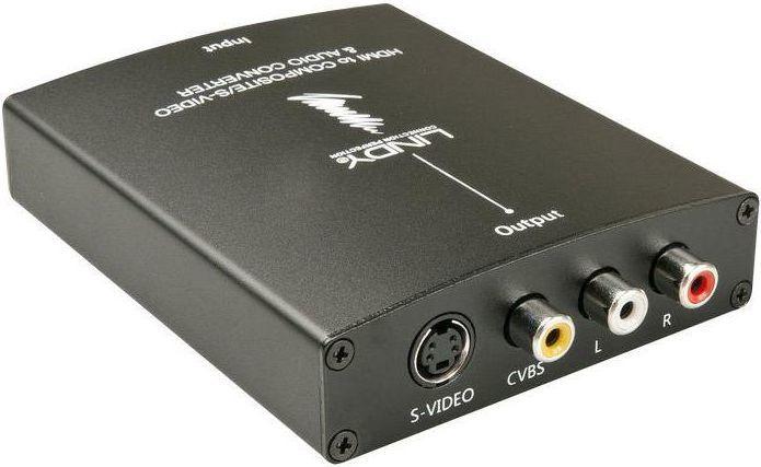 Adapter AV Lindy HDMI do SVHS/S-Video/RCA (38093) 1