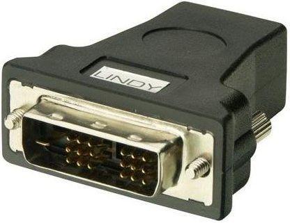 Adapter AV Lindy HDMI - DVI-D Czarny (41228) 1