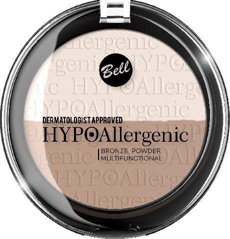 BELL Hypoallergenic Puder brązujący prasowany nr 01 9g 1