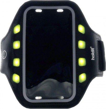 Holdit opaska do biegania LED XL czarna (612017) 1