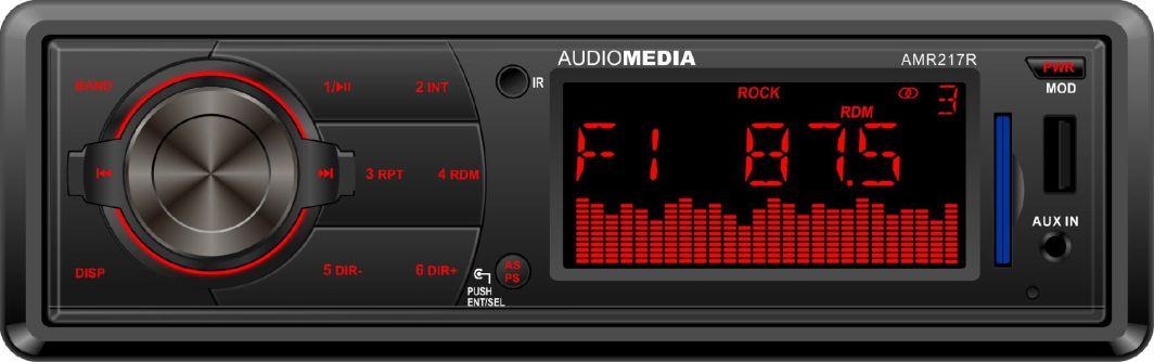 Radio samochodowe AudioMedia AMR217R 1