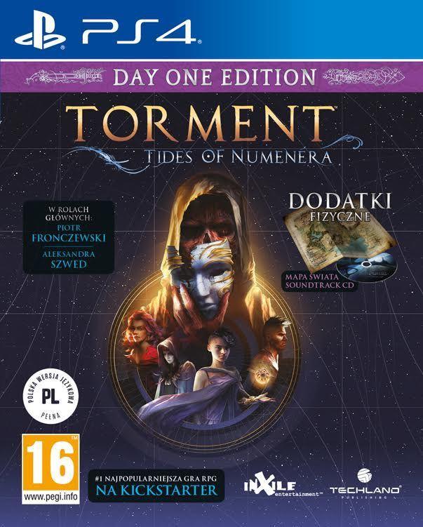 Torment: Tides of Numenera PS4 1