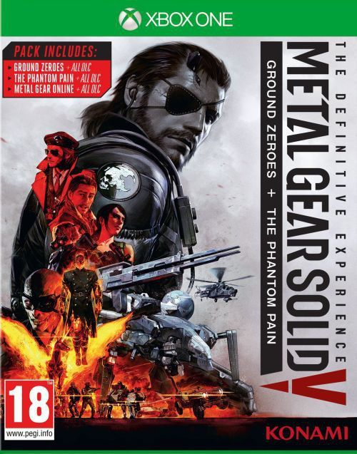 Metal Gear Solid V The Definitive Experience Id Produktu 975167