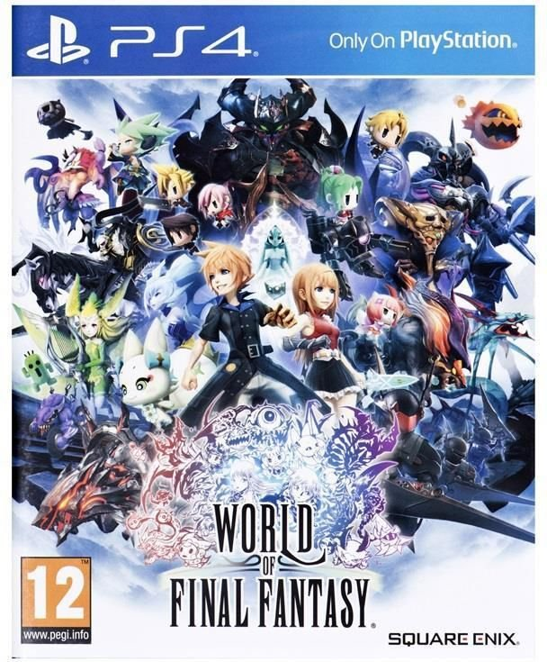 World of Final Fantasy Standard Edition 1