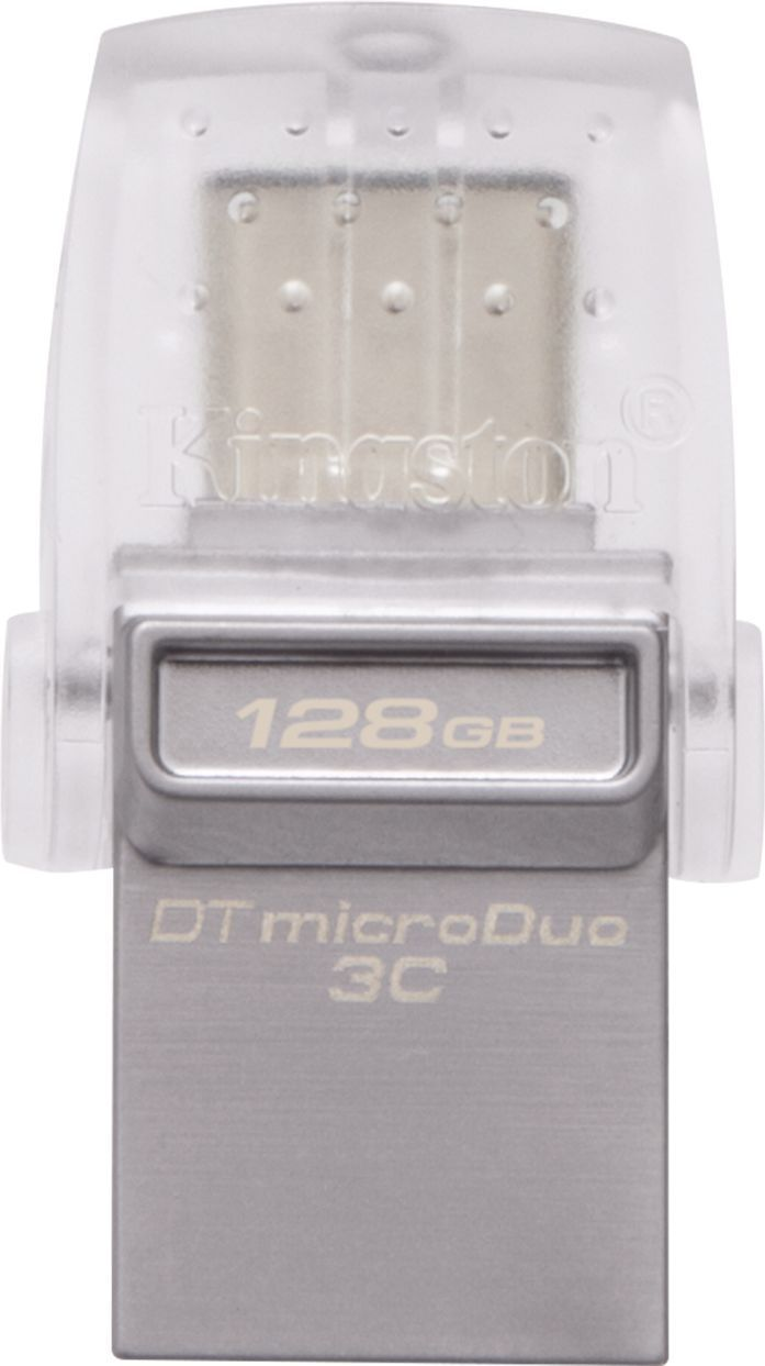 Pendrive Kingston DataTraveler microDuo 3C 128GB (DTDUO3C/128GB) 1