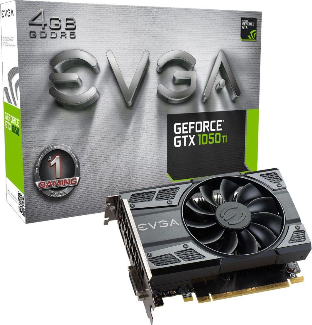 Karta graficzna EVGA GeForce GTX 1050Ti Gaming 4GB GDDR5 (04G-P4-6251-KR) 1