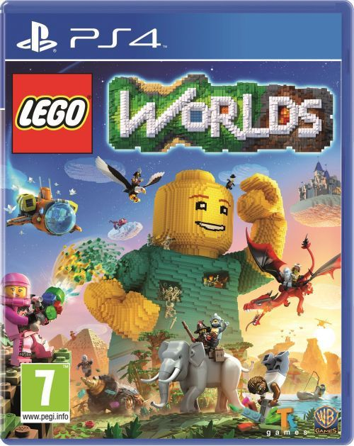 Lego Worlds PS4 1