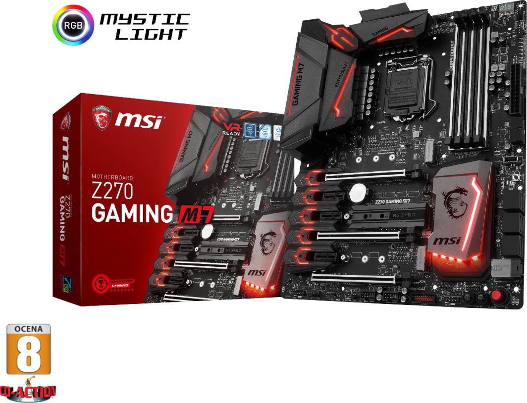 Płyta główna MSI Z270 GAMING M7 1