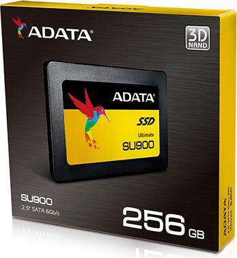 "Dysk SSD ADATA SU900 256 GB 2.5"" SATA III (ASU900SS-256GM-C) 1"