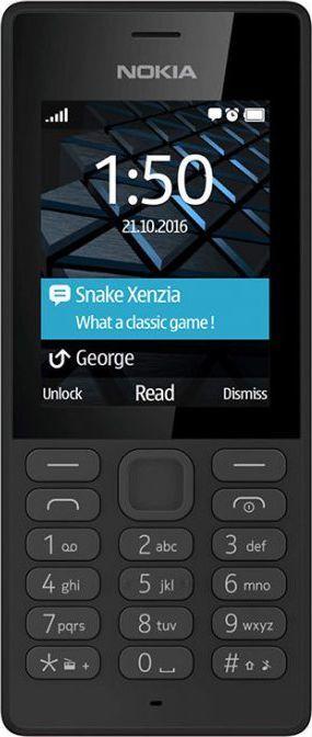 Telefon komórkowy Nokia 150 Dual SIM Czarny 1