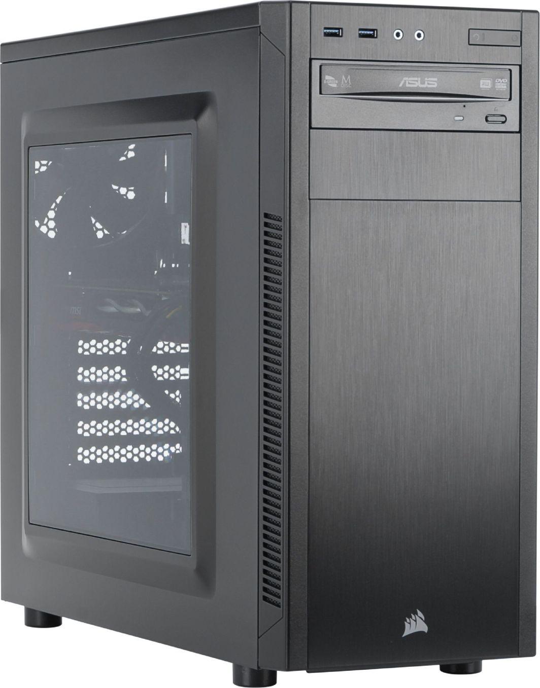 Komputer Elite Boosted Ryzen 5 1600, 8 GB, Radeon RX 580, 128 GB SSD 1 TB HDD  1