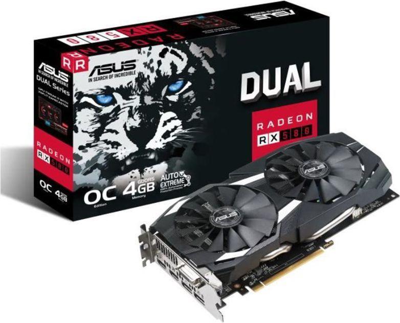 Karta graficzna Asus Dual Radeon RX 580 OC 4GB GDDR5 (DUAL-RX580-O4G) 1