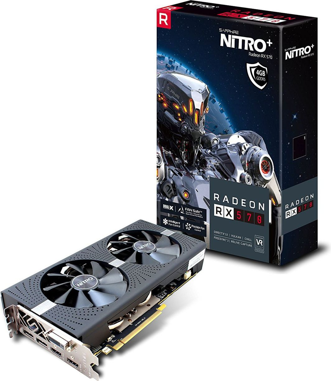 Karta graficzna Sapphire RX 570 Nitro+ 4GB GDDR5 (11266-14-20G) 1