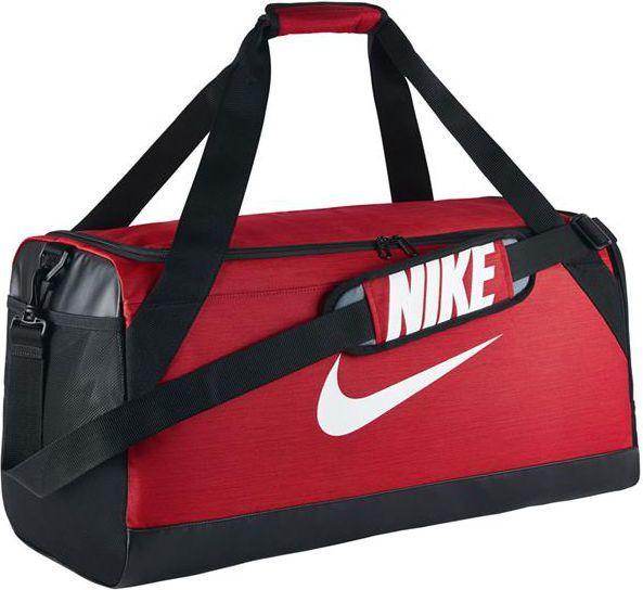 konkretna oferta ponadczasowy design kup tanio Nike Torba sportowa Brasilia M czerwona (BA5334-657) ID produktu: 977361