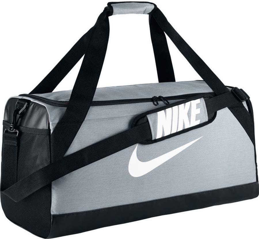 b09446c42a5ec Nike Torba sportowa Brasilia M szara (BA5334-043) w Sklep-presto.pl