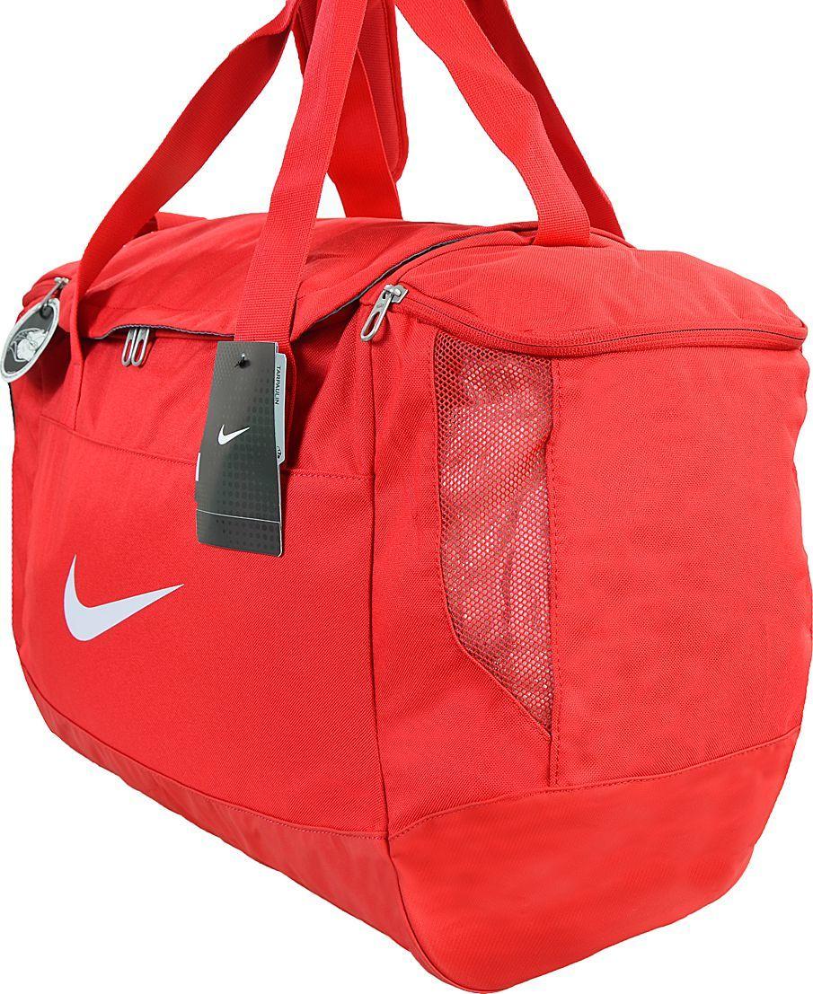 0a103b19d37b5 Nike Torba sportowa Club Team Swoosh Duffel M czerwona (BA5193 657) w  Sklep-presto.pl