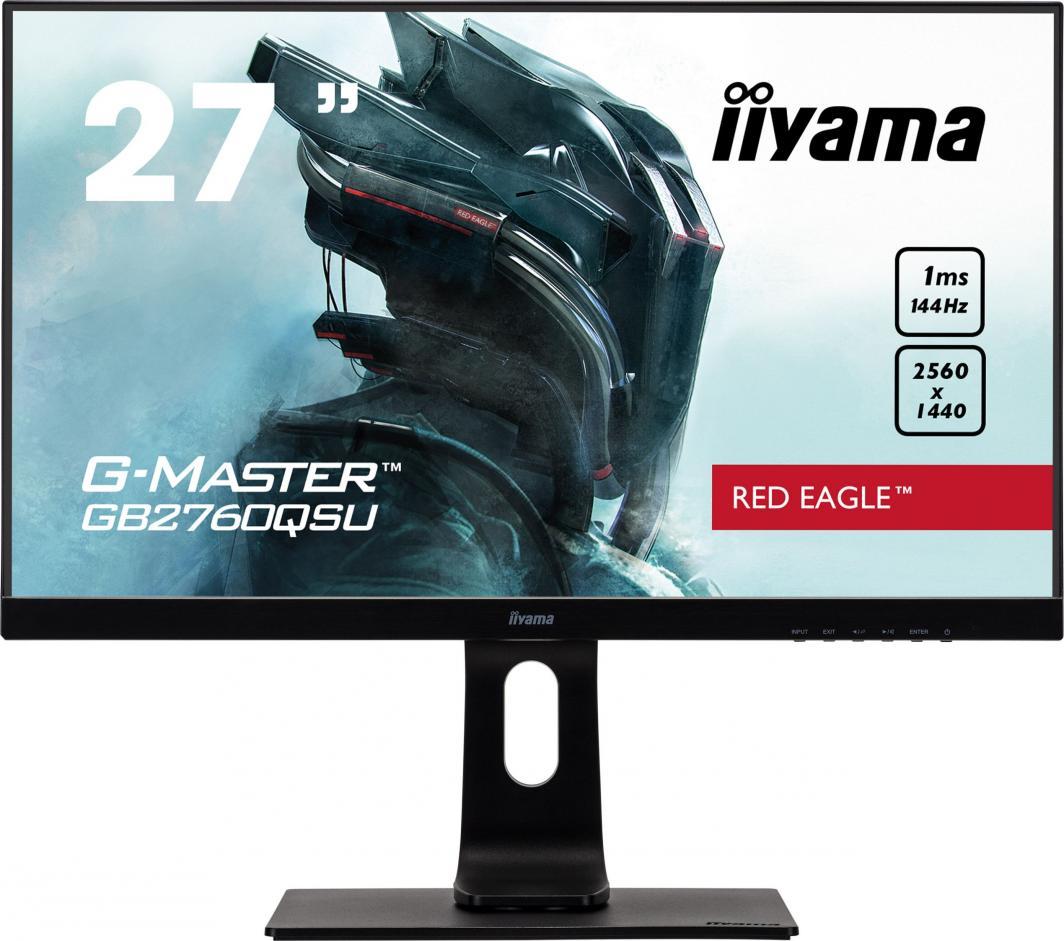 Monitor iiyama G-Master Red Eagle GB2760QSU-B1 1
