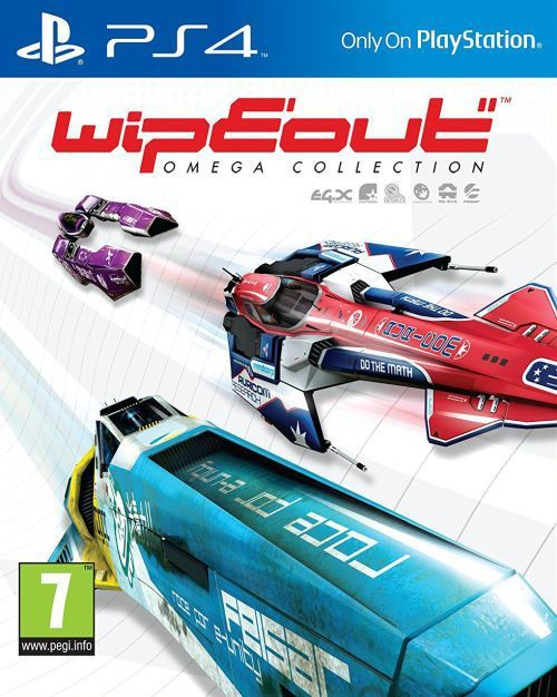 WipEout: Omega Collection PS4 1