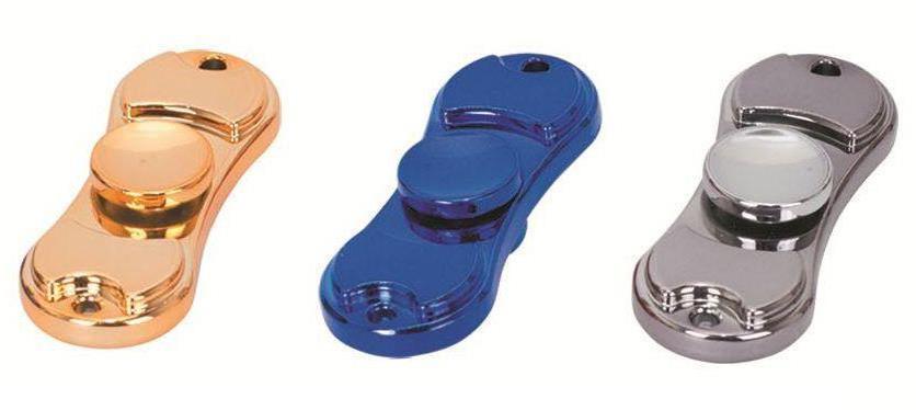 Fidget spinner metalowy podwójny 4 kolory 1