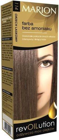 Marion Revoilution Farba do włosów nr 114 Orzech Laskowy 80 ml 1