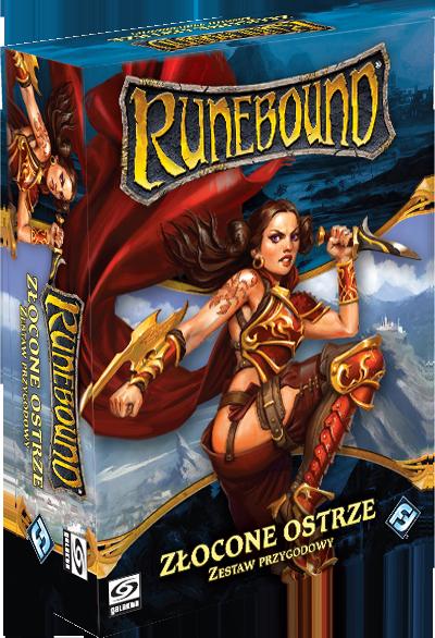 Galakta Runebound (3 edycja): Złocone Ostrze 1