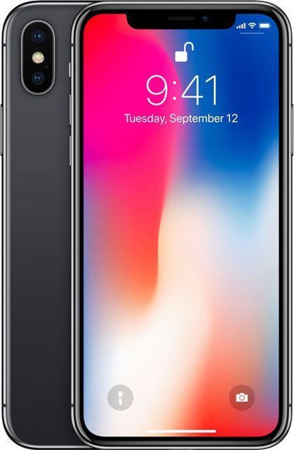 Smartfon Apple iPhone X 64 GB Szary  (MQAC2PM/A ) 1