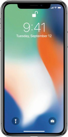 Smartfon Apple iPhone X 64 GB Srebrny  (MQAD2PM/A) 1