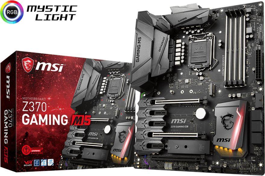 Płyta główna MSI Z370 GAMING M5 1