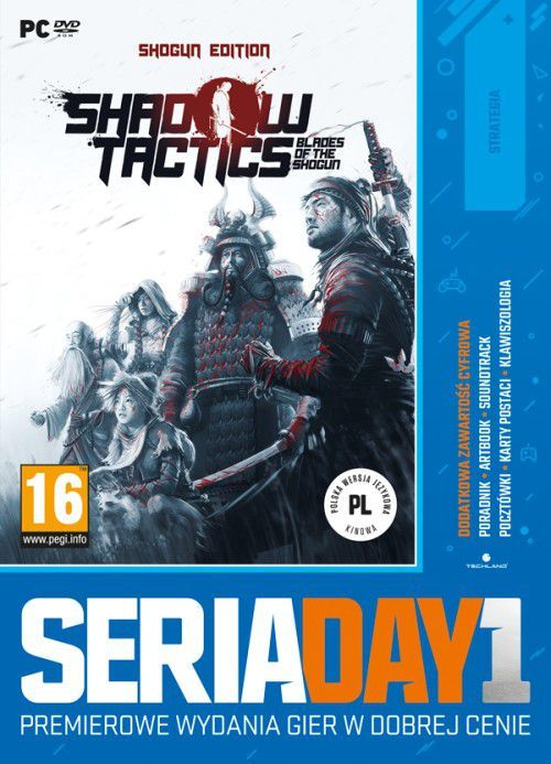 Seria Day1: Shadow Tactics: Blades of the Shogun PC 1