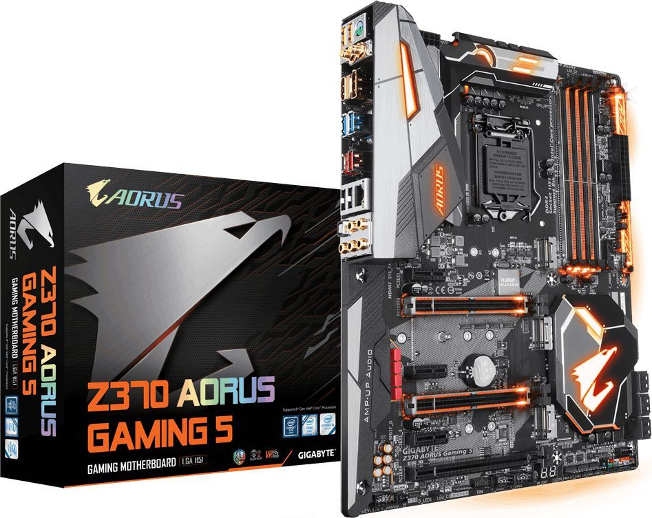 Płyta główna Gigabyte Z370 AORUS Gaming 5 1
