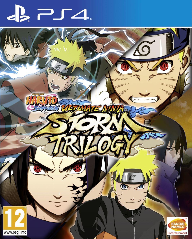 Naruto Shippuden: Ultimate Ninja Storm Trilogy PS4 1