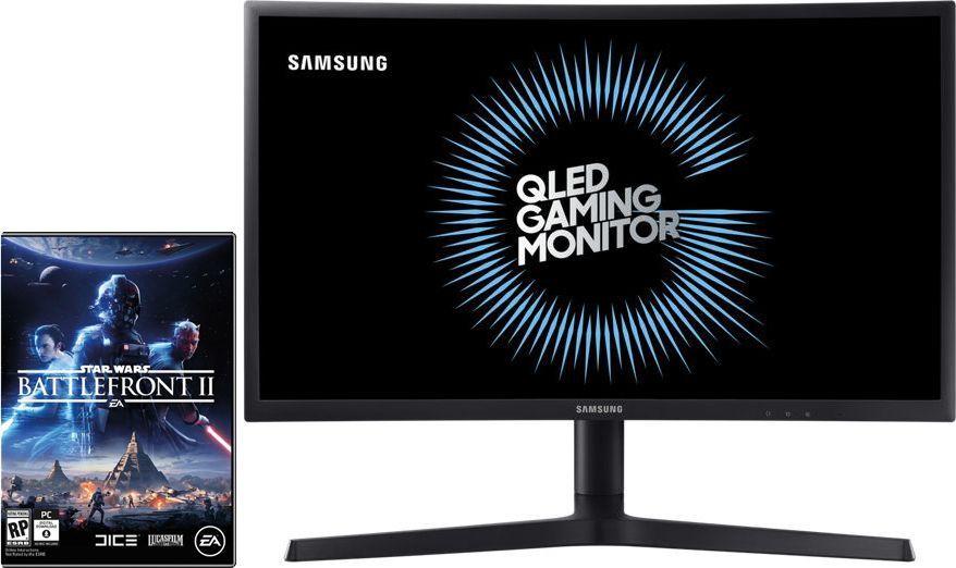 Monitor Samsung LC24FG73FQUXEN + Star Wars: Battlefront II 1
