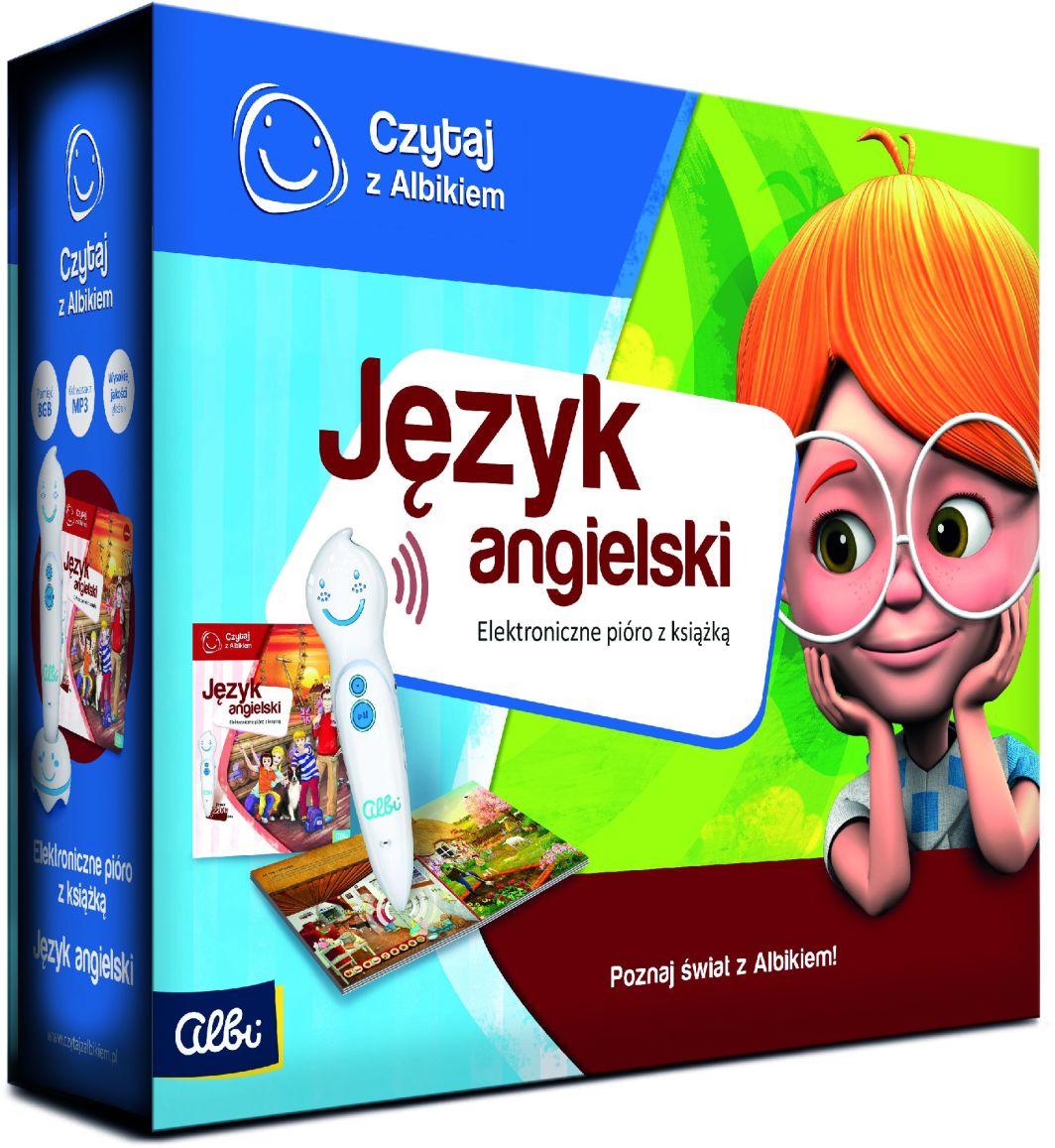 Albi Czytaj z Albikiem - Zestaw Pióro + Język Angielski 1