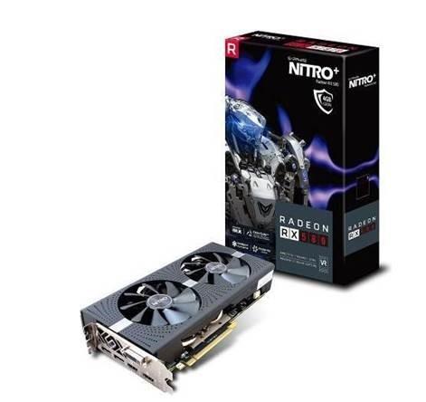 Karta graficzna Sapphire Radeon RX 580 Nitro+ 4GB GDDR5 (256 Bit) DVI-D, 2xHDMI, 2xDP (11265-31-20G) 1