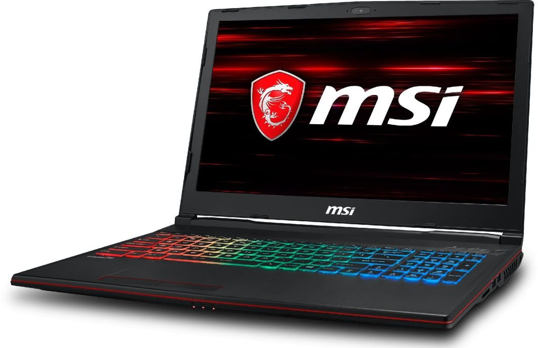 Laptop MSI GP63 Leopard 8RE-403XPL (8RE-060XPL) 32 GB RAM/ 256 GB M.2 PCIe/ 2TB HDD/ Windows 10 Home PL 1
