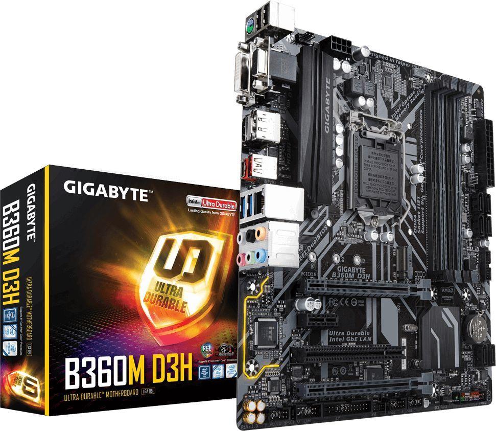 Płyta główna Gigabyte B360M D3H 1