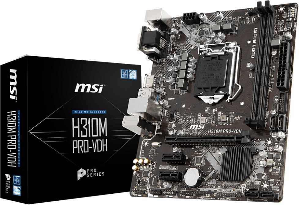 Płyta główna MSI H310M PRO-VDH 1