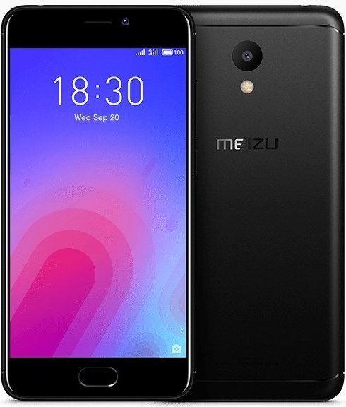 Smartfon Meizu Meizu M6 32 GB Dual SIM Czarny  (MEIZUM63/32BLACK) 1
