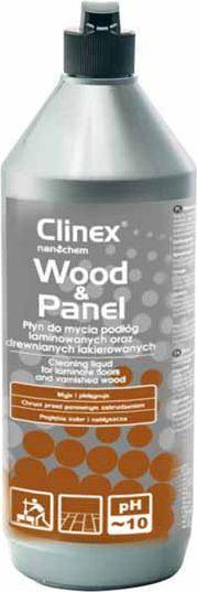 Clinex Płyn do mycia drewnianych podłóg i paneli 1L (77-689) 1
