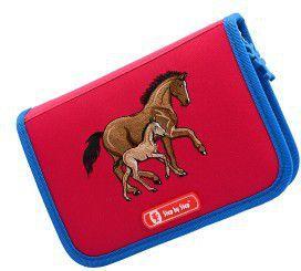 Piórnik Step by Step 3D Horse Family z wyposażeniem różowy (138635) 1